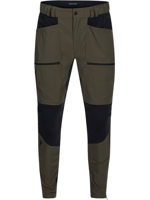 Peak Performance M's Track Tights Terrain Green